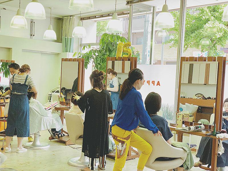 名東区の美容院 | APPY 店内風景その1