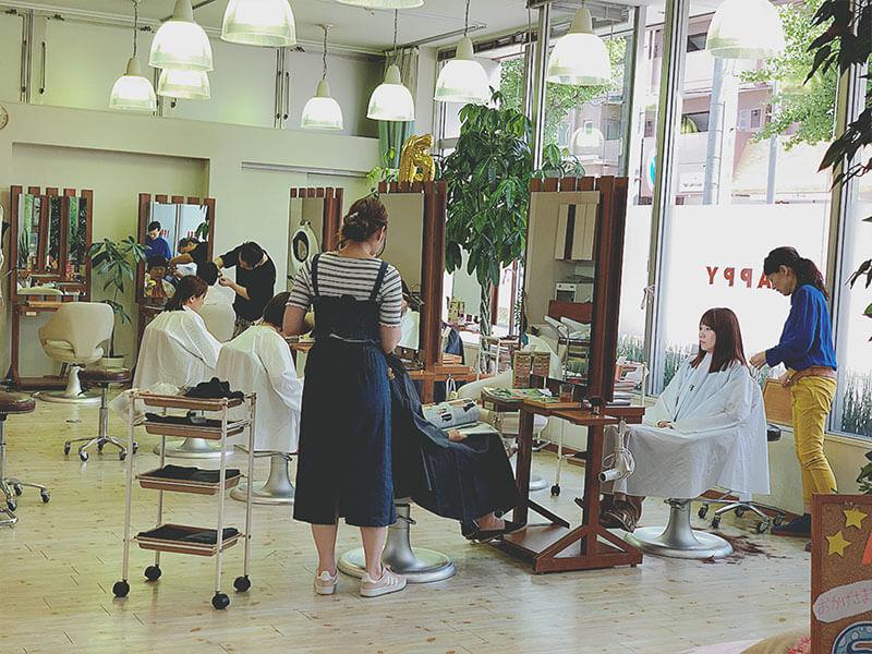 名東区の美容院 | APPY 店内風景その2