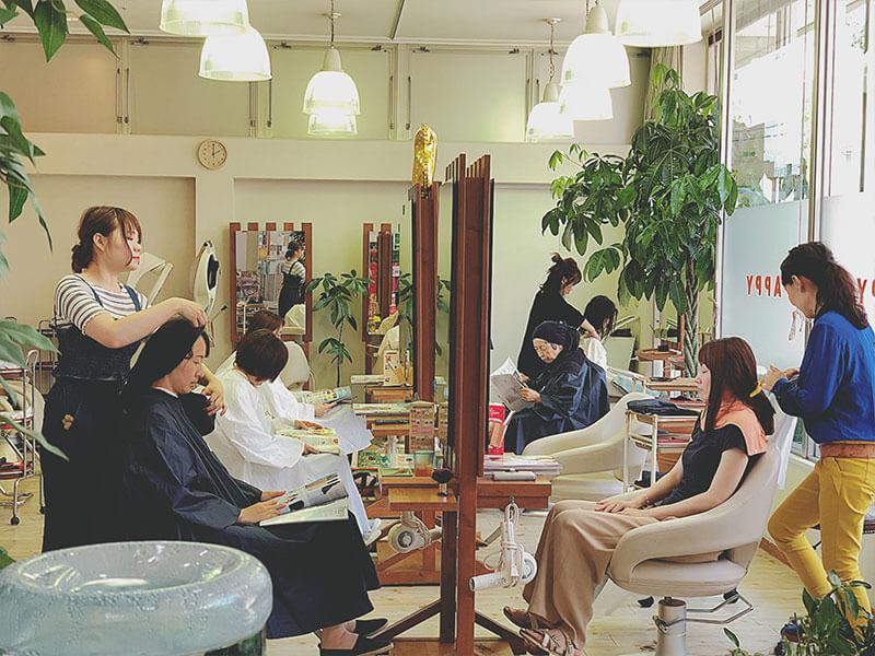 名東区の美容院 | APPY 店内風景その3