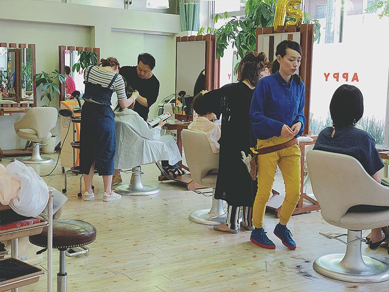名東区の美容院 | APPY 店内風景その4
