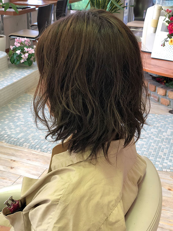 名東区の美容院 | APPY ニュアンスセミディスタイル