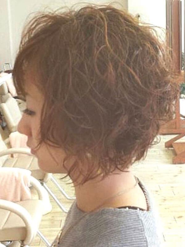 名東区の美容院 | APPY クセ毛風ボブスタイル